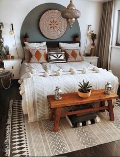 trends apartment designs design bedroom room interi ideas furniture small girls for l simple . trends apartment designs design bedroom room interi ideas furniture small girls for l simple picture-Relaxing Bohemian Bedroom Design Ideas Apartment Decoration, Decoration Bedroom, Decoration Design, Apartment Design, Diy Home Decor, Decor Room, Girls Apartment, Wall Decor, Bedroom Apartment