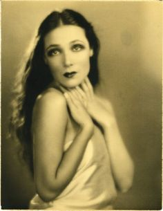 Dolores del Río (1904 – 1983) Mexican film actress from the Silent Era