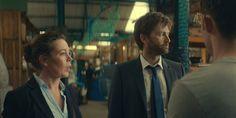 David and Olivia in Broadchurch season three