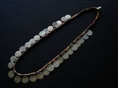 Vintage South Indian Tribal Coin Necklace