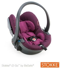 Babyschale iZiGo by BeSafe, purple