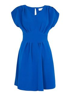 Buy Almari Pleat Back Tie Dress, Blue from our Women's Dresses Offers range at John Lewis & Partners. Tie Dress, Dress Backs, Blue Dresses, Dresses For Work, Summer Dresses, Fit Flare Dress, Fit And Flare, Deep V Neck Dress, Feminine Dress