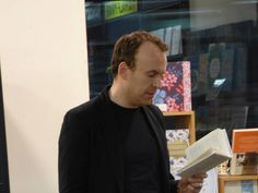 Matt Haig reads from his book, Reasons to Stay Alive, in store on March 19th.