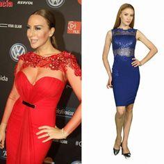 @monicanaranjo inspiración, musa, diosa @remixance!!! 😍😍😍😍 Nuestra propuesta en azul con el vestido Antonella SHOW NOW | Link in Bio