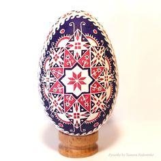 Real ukrainian pysanka in batik stile big goose egg Pysanky Pisanki Ukrainian Easter Eggs, Ukrainian Art, Ritual Spirit, Eastern Eggs, Protection Symbols, Magic Design, Easter Egg Designs, Faberge Eggs, Egg Art