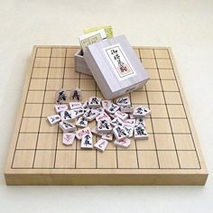 Set of Genpei lacquer statement piece and chess set Hiba 1 cun tabletop junction shogi board bamboo *** Check out the image by visiting the link.