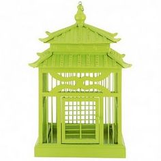 lime,asian,birdhouse