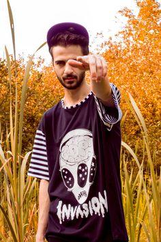 Daniel Palillo SS/13 Invasion Print Tee