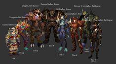 Hunter Tier Sets