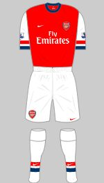 2012-2013 Arsenal Kit
