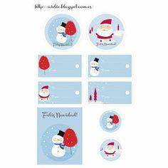 Feliz Navidad Printable Gift Tags