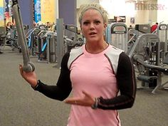 Mix Up Your Triceps Training! Break out of your usual arm training routine with Nicole Wilkins's three different ways to use the cable machine for triceps.