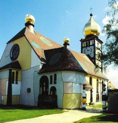 hundertwasserkirche in bärnbach - Google-Suche