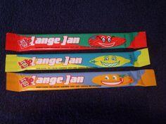 Lange Jan, de gele was lekkerst. 90s Childhood, Childhood Memories, 90s Candy, Good Old Times, 90s Kids, Sweet Memories, My Memory, The Good Old Days, Retro