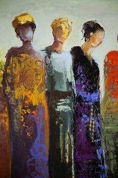art & inspiration in 2019 art, figurative art, painti Painting People, Figure Painting, Figure Drawing, Painting & Drawing, Abstract Portrait, Portrait Art, Abstract Art, Portraits, Abstract Landscape