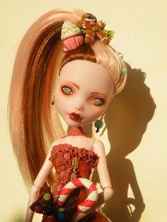 OOAK Monster High Custom Art Doll Minna by ValravnDesigns on Etsy