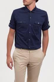 c31f106b5c Camisas de manga corta para hombre. Outfits. Cómo llevar camisas de manga  corta. Moda hombre. Ropa hombre