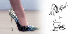 MA$ims 3: Christian Louboutin So Kate Python Pumps • Sims 4 Downloads