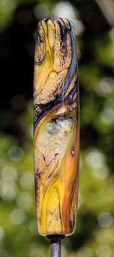 Desert Colors Handmade Lampworked Glass Bead OOAK by ninaeagle, $22.99