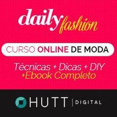 """Curso de Moda Online """"Daily Fashion"""" + Bônus Ebook """"Como se Tornar uma Personal Stylist"""""""