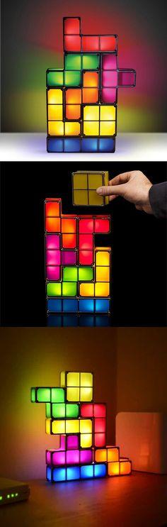 #Tetris Lamp http://gizmosandgadgets.org/tetris-lamp/