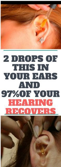 2 DROPS OF THIS IN YOUR EARS AND 97% OF YOUR HEARING RECOVERS!! EVEN OLD PEOPLE FROM 80 TO 90 ARE DRIVEN CRAZY BY THIS SIMPLE AND NATURAL REMEDY.! Read this!
