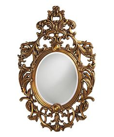 Museum Gold Dosiere Wall Mirror
