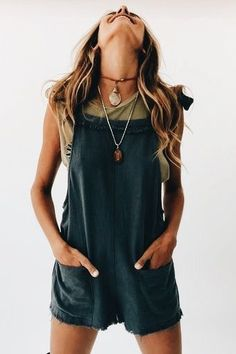 58 Boho Outfits That Will Inspire You - Daily Fashion Outfits Boho Outfits, Spring Outfits, Casual Outfits, Cute Outfits, Fashion Outfits, Hipster Summer Outfits, Cute Hippie Outfits, Earthy Outfits, Summer Shorts Outfits