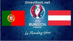 Euro 2016 : Portugal – Autriche - Live stream