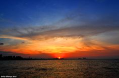 Sunset at Ancol Beach - Jakarta