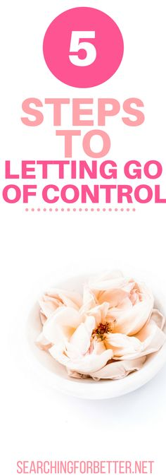5 Steps To Letting Go Of Control. Seriously before I read this steps I was #stressing and trying to #control everything! Things in my relationships, things that happened in the past, even my negative thoughts! I'm so glad I found this step by step guide. It's been AMAZING and really helped me to let go of negativity, of the past and #friendships. But most important it's helped me let go of control. I feel so much less #stress. #letgo #selfcare #selflove