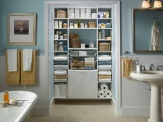 Since space is always needed, purchase an oversized vanity with plenty of cabinets and drawers. If that's not enough, add a medicine cabinet, wall cabinets or floating shelves. For More Details Please Click On http://www.bathroomcontractors.com.au/bathroom-directions/   #BathroomRenovationsMelbourne #BathroomRenovatorsMelbourne