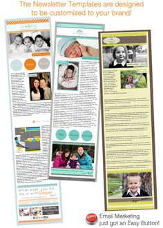 Newsletter Templates.  For more ideas go to www.signonthedottedline.info