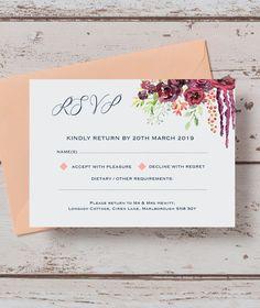blush marble rsvp rsvp wedding rsvp and wedding