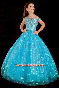 girls+pageant+dresses | ... -length little girl dress 1323 - Cheap Little Girl Pageant Dresses