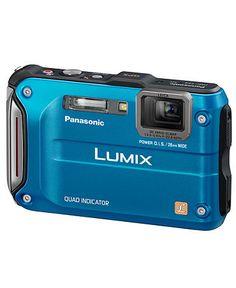 Panasonic Camera, Lumix DMC-TS4 12.1MP Digital Camera