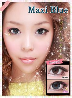 GEO Angel Blue - EyeCandy's  ♥♥ Shop now ~ www.eyecandys.com ♥♥ Authentic Korean circle lenses, circle lens, colored contacts, color contact lens, big eyes, cosmetic contact lenses, korean makeup, ulzzang, gyaru, coloured contacts, colour contacts, colour lens.  #circlelenses, #circlelens, #coloredcontacts, #colorcontacts, #colorlens, #gyaru, #ulzzang, #bigeyes #prettyeyes, #koreanstyle, #eyes, #makeup, #koreanbeauty, #makeup, #asian, #asiangirl, #contacts, #contactlens, #eyecandys