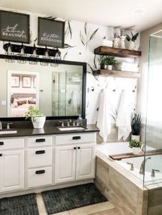 Master Bathroom Style and Design Diy Bathroom Decor, Diy Home Decor, Bathroom Ideas, Bathroom Inspo, Bathroom Storage, Cozy House, Master Bathroom, Interior Decorating, Decorating Ideas
