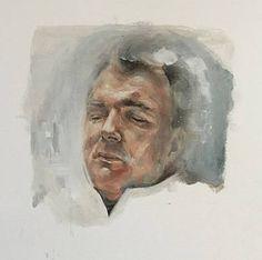 """Saatchi Art Artist Magdalena Lamri; Painting, """"Asleep II"""" #art"""