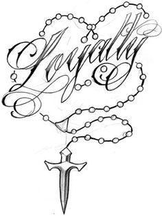 Best Tattoos Ever seen: Loyalty Tattoos Designs Rosary Tattoo On Ankle, Rosary Foot Tattoos, Crucifix Tattoo, Rosary Bead Tattoo, Rosary Beads, Tattoo Designs, Tattoo Design Drawings, Art Drawings, Diy Tattoo