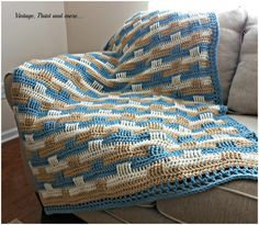 Basketweave Stitch Blanket – Free Pattern – NatureRelated