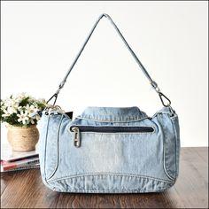 Denim Shoulder Bags, Store, Fashion, Moda, Fashion Styles, Larger, Fashion Illustrations, Shop