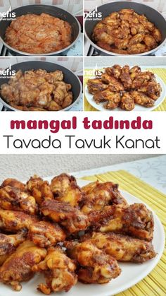 Tavada Mangal Tadında Tavuk Kanat – Nefis Yemek Tarifleri – How to make Chicken Wings Recipe in Grill Pan? Illustrated explanation of this recipe in the book of people and photographs of those who try it are here. Best Appetizer Recipes, Best Appetizers, Yummy Recipes, Most Delicious Recipe, Chicken Wing Recipes, Breakfast Items, Turkish Recipes, Food Pictures, Food And Drink