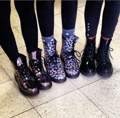 Docs give us street wear fashionistas an edge- wear em with everything.