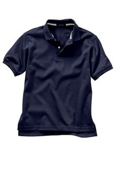 32bbdc843 Wholesale Boys Short Sleeve School Uniform Polo Shirt in Navy Blue -  Wholesale Price: $5.50 Case Price for 36 Shirts: $198.00