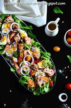 Snack Recipes, Snacks, Shrimp Pasta, Cobb Salad, Salads, Menu, Lunch, Baking, Brie