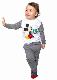 Sweatsuit Mickey Mouse Dino Mickey Mouse, Sport, Kind Mode, Kids Fashion, Baby, Sweatshirts, Sweaters, Cotton, Kids