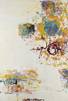"rickstevensart: "" Joan Mitchell   Sunflower IV   1969 """