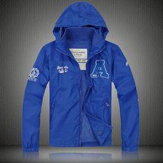 Abercrombie Dublin Mens Jacket Blue Outlet