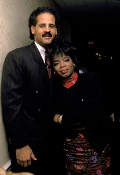 Oprah Winfrey and her longtime love Stedman Graham's love spans three decades. Here are our favorite sweet photos from their love story. Black Celebrity Couples, Celebrity Women, Black Celebrities, Celebs, Oprah And Stedman, Vintage Black Glamour, Iconic Photos, Famous Couples, Looking For Love